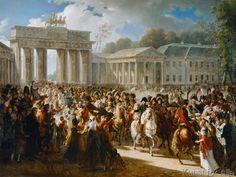 Charles Meynier - Entrée de Napoléon à Berlin, 27 octobre 1806
