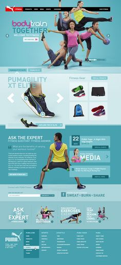 PUMA Fitness - Owen Shifflett : Design, Illustration,  Art Direction