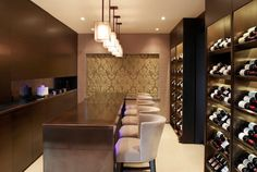 Portfolio of interior design projects in and around London live & play sumptuously Beer Cellar, Wine Cellars, London Live, Bar Areas, Wine And Beer, Bars For Home, Living Area, Bar Stools, Beautiful Homes