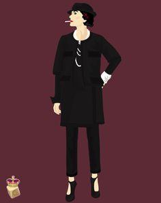 Style*  -Jaket,Skart,Pants,Shoes: CHANEL  -parfum: No.5