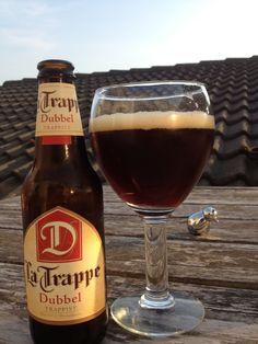 #97 La Trappe dubbel  #latrappe #trappe #trappist #trappistenbier #dubbel #bier #beer #SFB #swinkelsfamilybrewers #blondbier Beer Bottle, Drinks, Root Beer, Runway, Beer, Drinking, Beverages, Beer Bottles, Drink