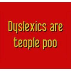 Dyslexics UNTIE!