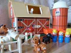 Fisher Price Play Farm by HudsonRiverHeart on Etsy, $43.00