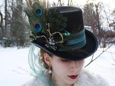 mad hatter top hat alice in wonderland top by WildRoseAndSparrow, $68.00