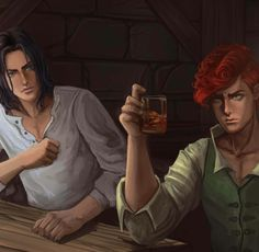 Bast and Kvothe