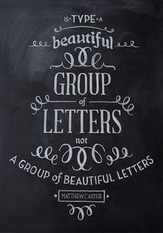 High Quality Typography Inspiration | From up North