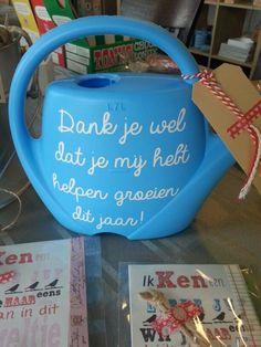 Juf kadootjes #uniek4u #hipinholland Kijk ook voor gepersonaliseerde bedankjes op www.dewonderwerkplaats.nl: