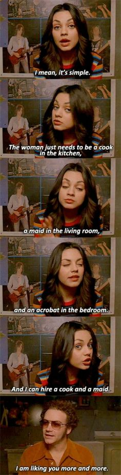 That 70's show had some pretty great moments.
