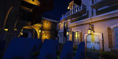 A view of the station theming for my pirate dark ride