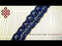 KBK Bar Paracord Bracelet Tutorial - YouTube How to Tie a KBK Bar Paracord Bracelet Here's my take on tying the KBK Bar paracord bracelet. I learned this method from JD Lenzen of tyingitalltogether, so please check out his channel if you haven't already. Hope you all like this one!