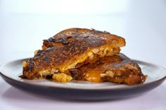 the chew | Recipe  | Daphne Oz's Roasted Cauliflower Grilled Cheese