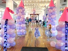 Sofia the First Balloon Castle