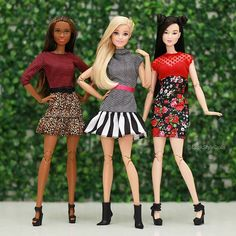 3,653 отметок «Нравится», 44 комментариев — Look Style Dolls™ (@lookstyledolls) в Instagram: «Girls ✨ #Barbie #BarbieStyle»