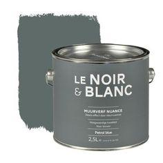 Le Noir & Blanc muurverf nuance petrol blue 2,5 l | Muurverf kleur | Muurverf | Verf & verfbenodigdheden | KARWEI