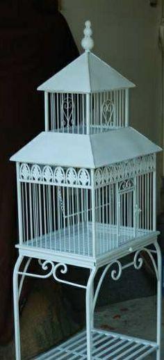 beautiful, large, Vintage Bird Cage