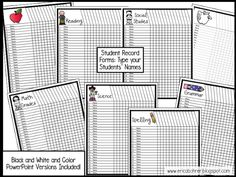 Binders are an easy way to manage papers. There are so many different style dividers out that you can organize materials by month, nu. Teacher Plan Books, Getting Organized, Binder, Spelling, Study, Organization, Education, Black And White, How To Plan