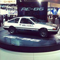 "Toyota Sprinter Trueno ""Hachi-Roku"" Initial D Japanese Sports Cars, Classic Japanese Cars, Classic Cars, Ae86, Initial D, Toyota Cars, Toyota 86, Nissan, Drifting Cars"