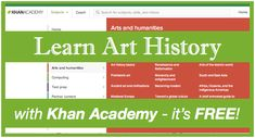 Learn Art History with the Khan Academy