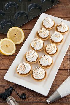 Mini tartaletas de limón y merengue | Mini lemon meringue tartlets