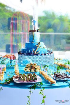 Mesa de torta y postres