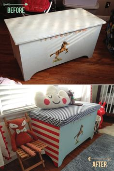 The Nursery: Diy Toy Chest