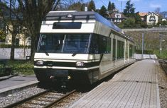 Trains Vevey-Blonay-Les Pléiades (Suisse)   Photo: Trams aux…   Flickr