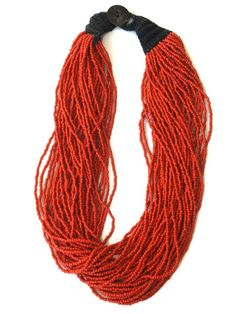 Girl Intuitive - Macrame - Red