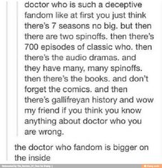 Oh Doctor Who