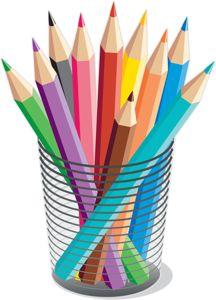 "Photo from album ""Карандаши,ручки"" on Yandex. Image Pinterest, Owl Clip Art, School Clipart, Art Party, Cute Illustration, Classroom Decor, School Supplies, Colored Pencils, Paper Crafts"