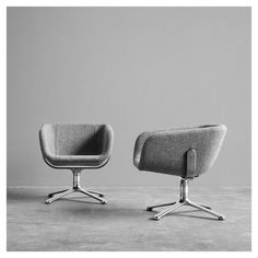 styletaboo:  KiBiSi - Scoop Lounge chair for +HALLE