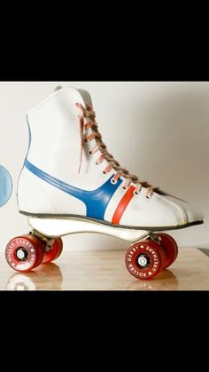 We had these skates. I used to pretend I was an Olympic figure skater, only I didn't have an ice rink, I couldn't skate backwards, or do an axle, or any jumps, or skate very fast.