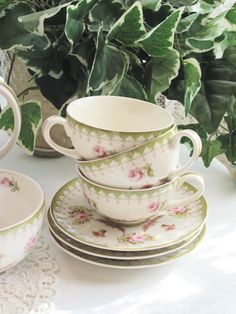Dingley Dell Tea Cup and Saucer