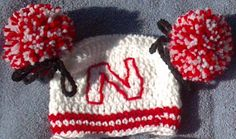 Cheerleader hat and diaper cover crochet pattern by ExpertCraftss, $4.95