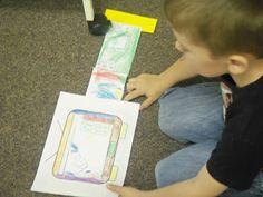 "Retelling ""TV""~~~May use a shoebox Reading Strategies, Reading Skills, Teaching Reading, Guided Reading, Readers Workshop Kindergarten, Reading Workshop, Teaching Activities, Teaching Tools, Speech And Language"