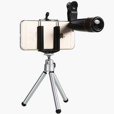 Universal Smartphone Lenses for Avid Mobile Photographers