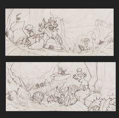 Croods, désert de déjà vu / Croods final posts III