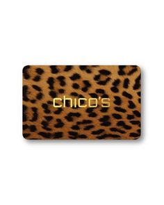 Chico's Gift Cards #chicos