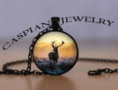 Very pretty. Deer Necklace #hunting #deer