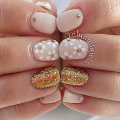 Image result for nails daisy