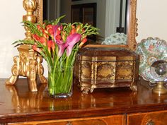 The French Tangerine: ~ party flowers