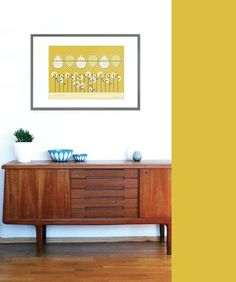 Retro poster 100 x Retro, Teak, Colours, Cabinet, Living Room, Wallpaper, Storage, Interior, Posters