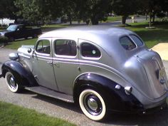 1938 plymouth   1938 Plymouth P 6 Road King. Black and Silver, 4 door, new interior ...