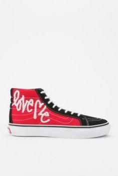 Vans X Curtis Kulig Love Me High-Top Sneaker #sneaker #valentine #urbanoutfitters