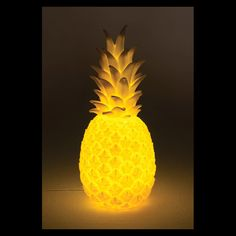 Pina Colada Pineapple Lamp | night Light yellow pine apple decor kids