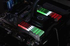 G.SKILL Released Trident Z RGB DDR4-3333 MHz 128 GB (16 GB x8) Kits