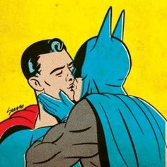 I knew there was something going on between batman and robin! LOL