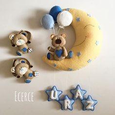 Uraz'ın kapı süsü ve perde tutacakları #keçe #felt #feltro #fieltro #kapisusu #keçekapisusu #ecerce #tasarim #babyroom #babyroomdecor #elyapimi #handmade #hediye #babyshower #bebekodasi #baby #babyboy #bear #feltbear #hosgeldinbebek #dogumhediyesi #craft #feltcraft #perdetutacagı #perdesusu