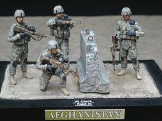 1/35 Master Box's U.S. Check Point in Iraq