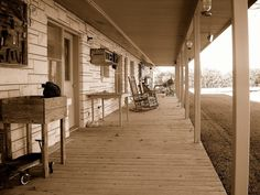 This old porch