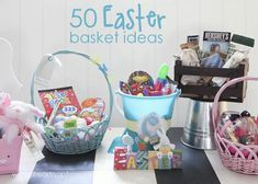 50 Easter basket ideas I Heart Nap Time | I Heart Nap Time - How to Crafts, Tutorials, DIY, Homemaker